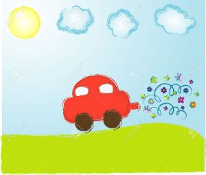 5073037-Vector-children-s-picture-Stock-Vector-car-cartoon-drawing